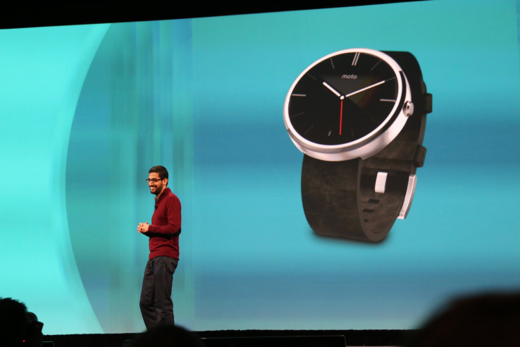 "Google I/O Attendees Gifted Brand-New ""Android Wear"" Smartwatches"